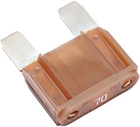Durite-Fusibles Tipo Cuchilla Amarillo 20 Amp Bx50-0-375-70
