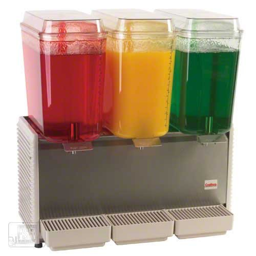 - Grindmaster (D35-4) - Crathco Triple Bowl Premix Cold Beverage Dispenser