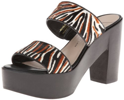 10 Donne Crosby Luanda Troppo Mule Marrone Zebra