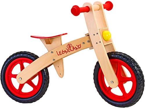 Legnoland 35483 bicicletta Madera Multicolor Infantil Unisex - Bicicleta (Madera, Multicolor, Sin Cadena, Infantil Unisex, 2 Rueda(s), 2 año(s)): Amazon.es: Juguetes y juegos