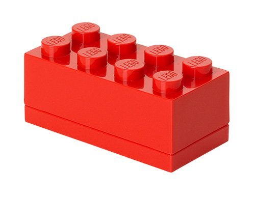 LEGO Mini Box 8, Bright Red