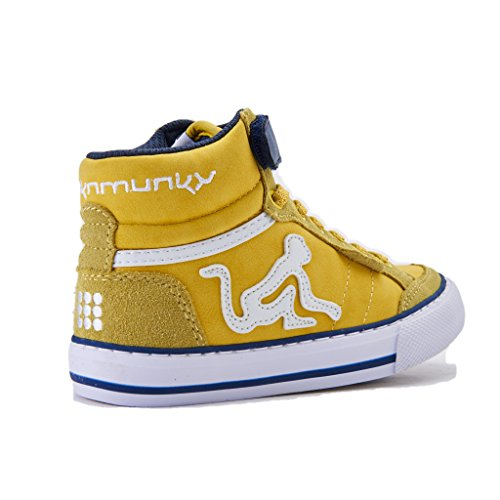 Bambino DrunknMunky Alto Boston a Sneaker Camu Collo Giallo nO7YqPBO