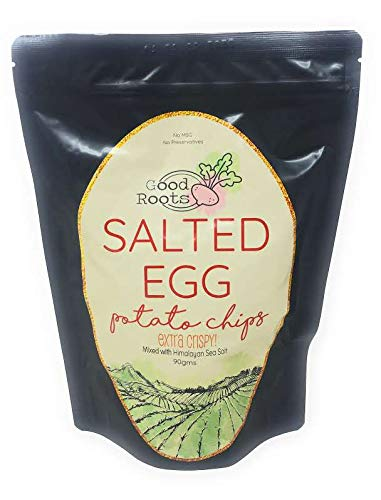 (Good Roots Salted Egg Potato Chips 90Gms)