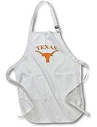 Acquisition 3dRose apr_3085_2 Texas Longhorn-Medium Length Apron, 22 by 24-Inch deal