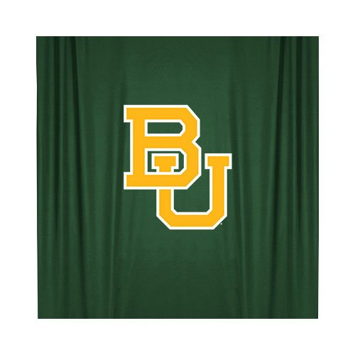 NCAA Baylor Bears Shower Curtain, 72 x 72, Dark Green by Sports Coverage