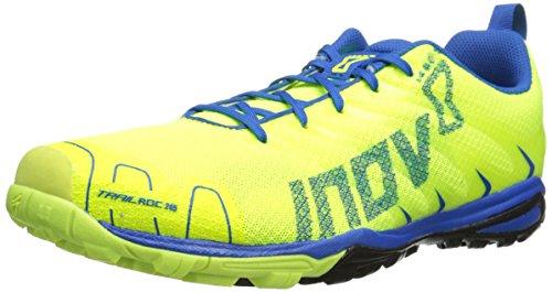 Inov-8 Men's Trailroc Y 245 Trail Running Shoe,Yellow/Blue,8.5 W US