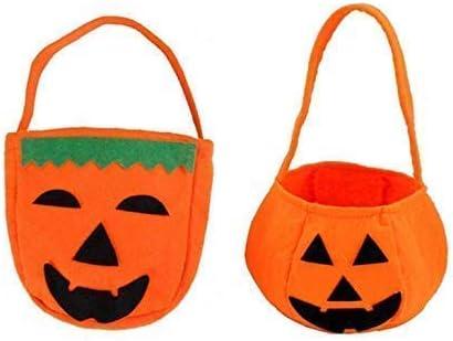 Gwill Halloween Calabaza Bolsas para Trucos o tratamientos, Bolsa ...