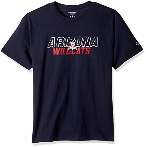 - Champion NCAA Men's Short Sleeve Graphic T-Shirt Arizona Wildcats Large