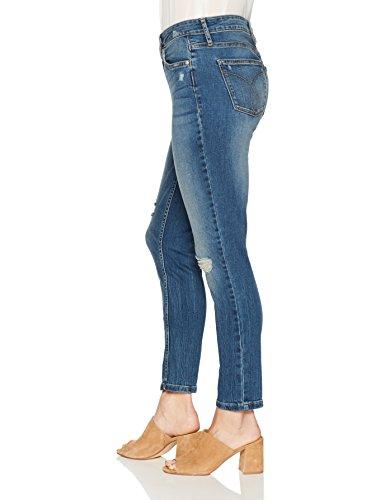 D Mezclilla Flexible Klein Calvin Para Mujer Blue cqWY8BRP