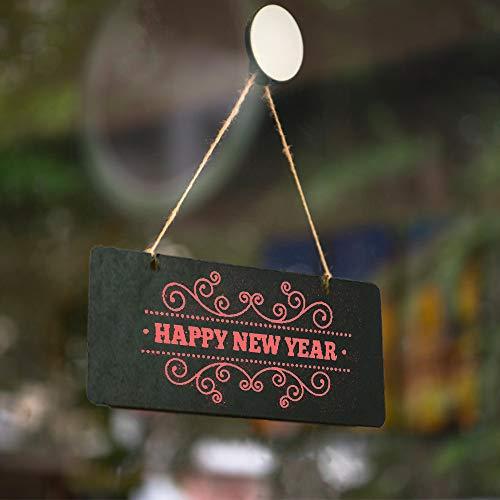 Lucky Life - Pizarra decorativa para colgar con texto en ...