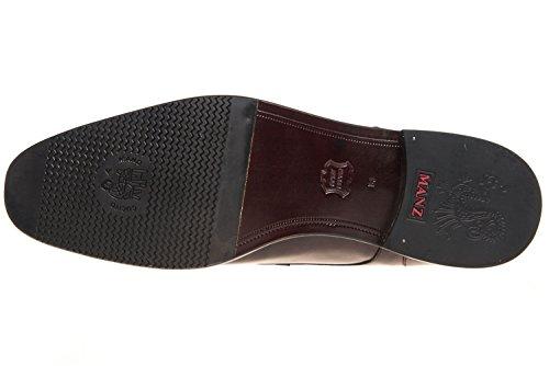 pour Ville Marron Lacets à Manz Chaussures Homme Marron de wOTqwSn4