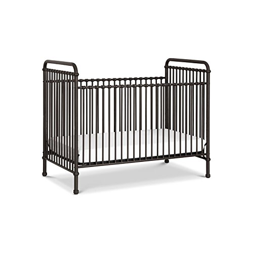 Million Dollar Baby Classic Abigail 3 in 1 Convertible Crib, Vintage - Baby Lind Jenny Crib Vinci Da