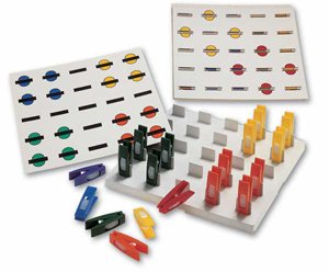 - Get-A-Grip Pegboard Set