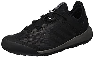 adidas, Terrex Swift Solo Shoes, Men's Shoes, UtilityBlack/Black/Grey Four, 7.5 US