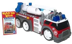 Matchbox Rescue Net Super-Blast Fire Truck