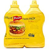 French's Classic Yellow Mustard; Big Value Twin Pack - 2 Count (30 oz.)