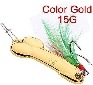 uu19ee Cebo de manivela de Metal Swim Baits Tackle Hooks 5.5cm 11g 1 Pc Color Aleatorio