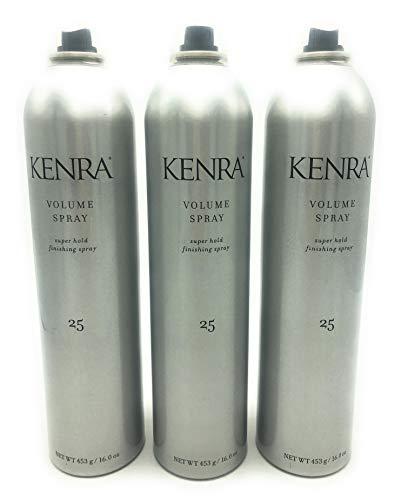 Kenra Volume Super Hold Finishing Spray # 25 16.0 Fl. Oz. ea
