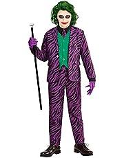 Widmann Evil Jokerkostuum voor kinderen.