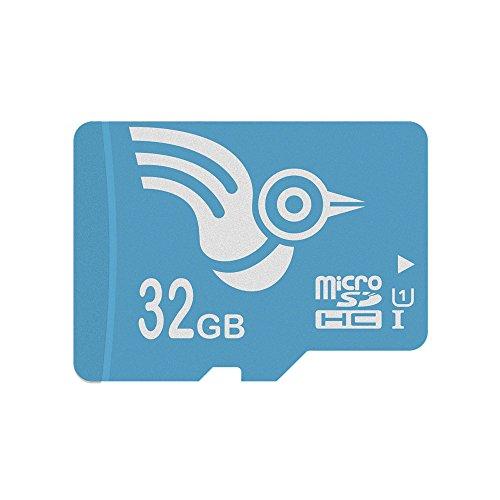 Price comparison product image ADROITLARK Memory Card 32GB Micro SD Card Class10 U1 Flash TF Microsd Card with Adapter Mrcro SDHC Card for Smart Watch/Phone(U1 32GB)
