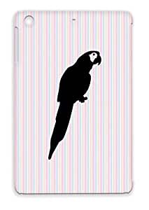 Bird Fly Birds Animals Nature Parakeet Animal Parrot Pet Black Parrot For Ipad Mini Shockproof Case Cover