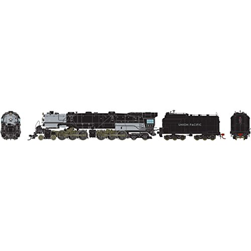 Athearn HO 4-6-6-4 w DCC & SND Oil UP CSA-2 Class - Handrail Ho Athearn