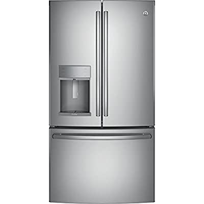 "GE Profile PFE28KSKSS 36"" Freestanding French-door Refrigerator with 27.8 Cu. Ft. Capacity, in Stainless steel"