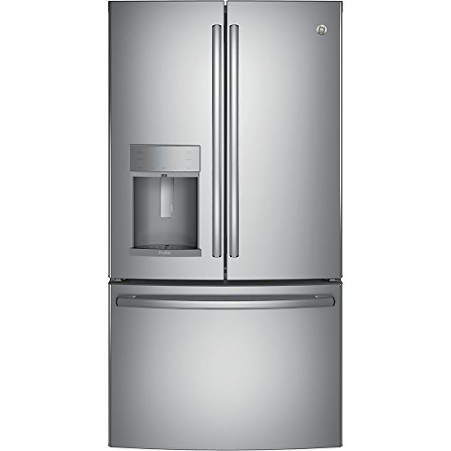 "GE Profile PFE28KSKSS 36"" Freestanding French-door Refrigera"