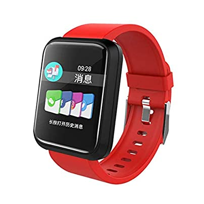 Fashion Sports Smart Fitness Wristband Heart Rate Activity Tracker Waterproof Blood Pressure Oxygen Meter Men s Smart Bracelet Estimated Price £99.15 -