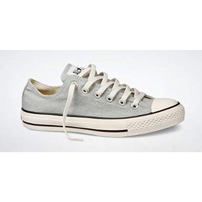 8a9fda2b26da Converse Chuck Taylor All Star Ox Shoes - Stonewash Grey - Size UK 12   Amazon.co.uk  Shoes   Bags
