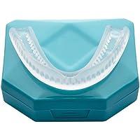 Professional Aufbissschiene (2 Stk) inkl. Aufbewahrungsbox BPA frei Zahnschutz beim nächtlichen Zähneknirschen Knirscherschiene Zahnschiene