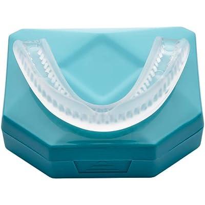 Menthol 2 x Dispositivos Anti Ronquidos Solucion Férula Dental Placa de Descarga Nocturna Protector Bucal para dormir, anti Bruxismo Rechinar los dientes y los Trastornos del ATM Dejar De Roncar