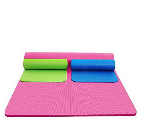 Amazon.com : YXGYJD Yoga Mat Fitness Mat Exercise Mat Pilates Mat - Size 183 × 61 Thickness 5 Mm Environmental Protection Material TPE Slip - Multi-Function ...