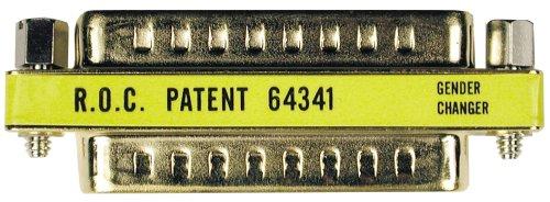 Tripp Lite Compact/Slimline DB25 Gender Changer (M/M) (P156-000)