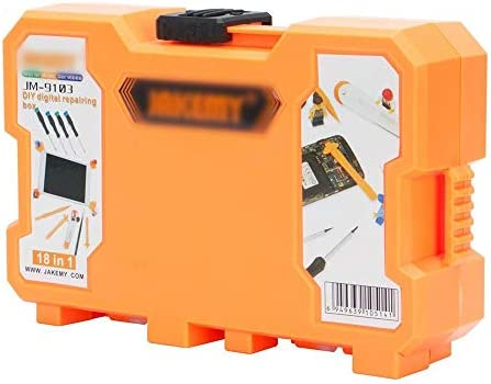 LilyAngel 1携帯電話修理片付けツールコンビネーションツールキットに付きコンピュータツールキット18