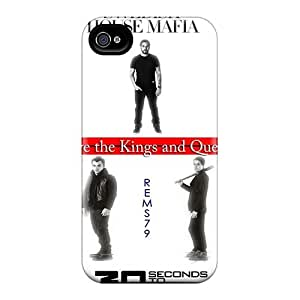 Iphone 4/4s EOw17441XnXy Allow Personal Design Stylish 30 Seconds To Mars Band 3STM Pictures Protective Cell-phone Hard Covers -JohnPrimeauMaurice