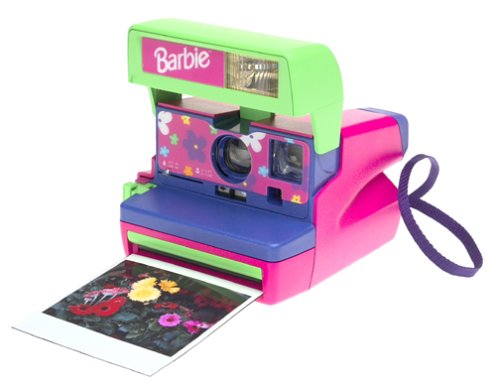 Polaroid Barbie Pink Instant Camera