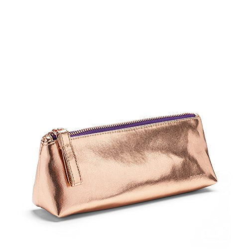 Poppin Copper + Purple Pencil Pouch by Poppin