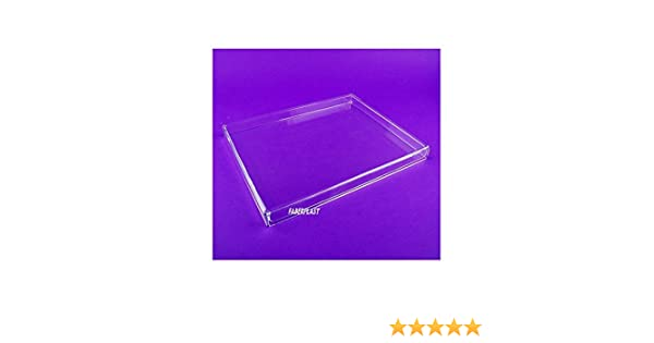 Faberplast FB961 - Caja plana con tapa, color transparente: Amazon ...