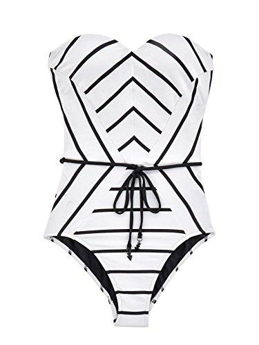 Seafolly-Womens-Castaway-Stripe-Bandeau-One-Piece-Swimsuit