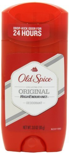 Old Spice High Endurance Original Scent Men's Deodorant 3 Oz (Pack of 4) by Old Spice