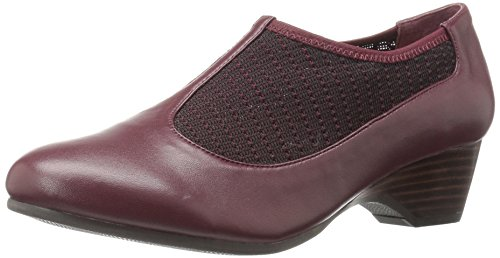 Petra Burgundy Women's Bella Wedge Pump Stretch Vita xXU6RwqE
