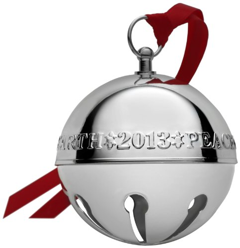 Wallace 2013 43rd Edition Silver-Plated Sleigh Bell Ornament by Wallace