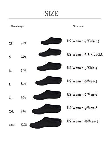 Hlm Chaussures De Yoga De Leau Pour Les Femmes Pieds Nus Running Aqua Chaussettes À Séchage Rapide Mutifunctional Léger Pour La Natation Surf Plage Jardin De Marche, Canotage 2.fushia