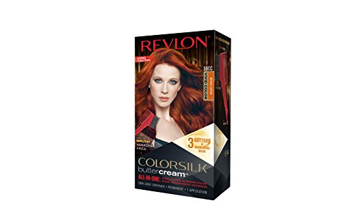 Revlon Colorsilk Buttercream Hair Dye, Vivid Intense Copper, 1 Count