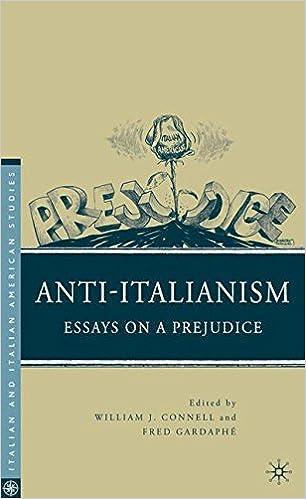 com anti italianism essays on a prejudice italian and anti italianism essays on a prejudice italian and italian american studies 2010th edition