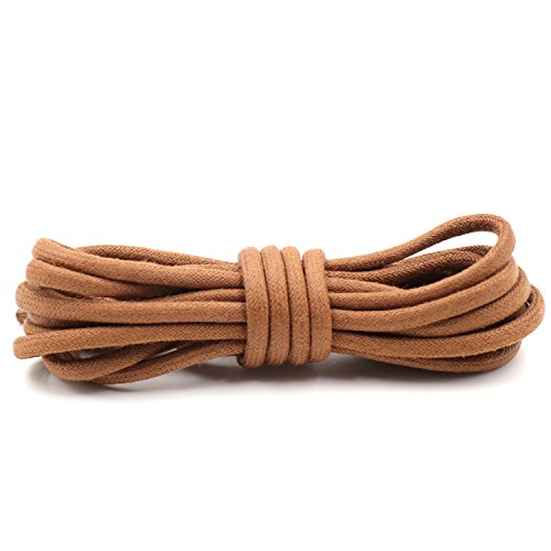 COOL LACE Waxed Shoelaces Round Shoe Laces Bootlaces
