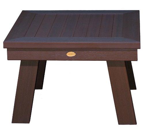 Ace Patio Furniture (Highwood Adirondack Side Table , Weathered Acorn)
