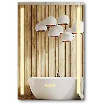Amazon.com: LED Side-Lighted Bathroom Vanity Mirror: 20 ...