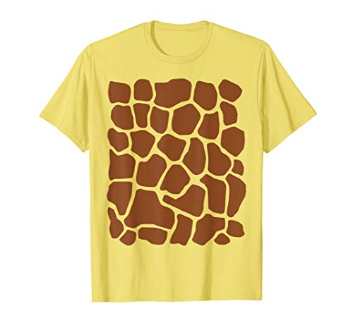 Giraffe Print Simple Halloween Costume Cute T-shirt]()